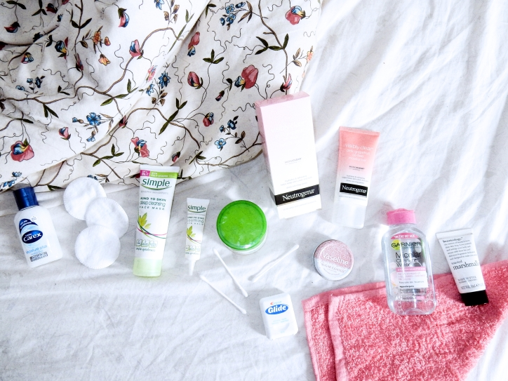 Quick and easy pamper routine